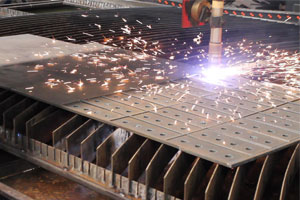Corte a Plasma em Aço Carbono
